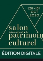 Salon du patrimoine 2020  : L'ÉDITION DIGITALE EST OUVERTE !