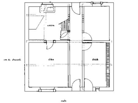 Nos chantiers lorraine - Plan maison sans couloir ...